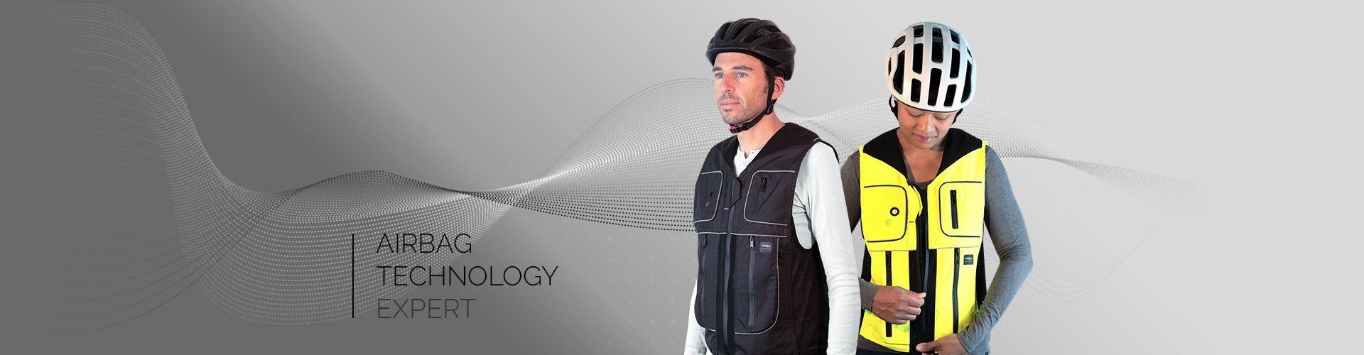 Airbag pour cycliste : B'Safe