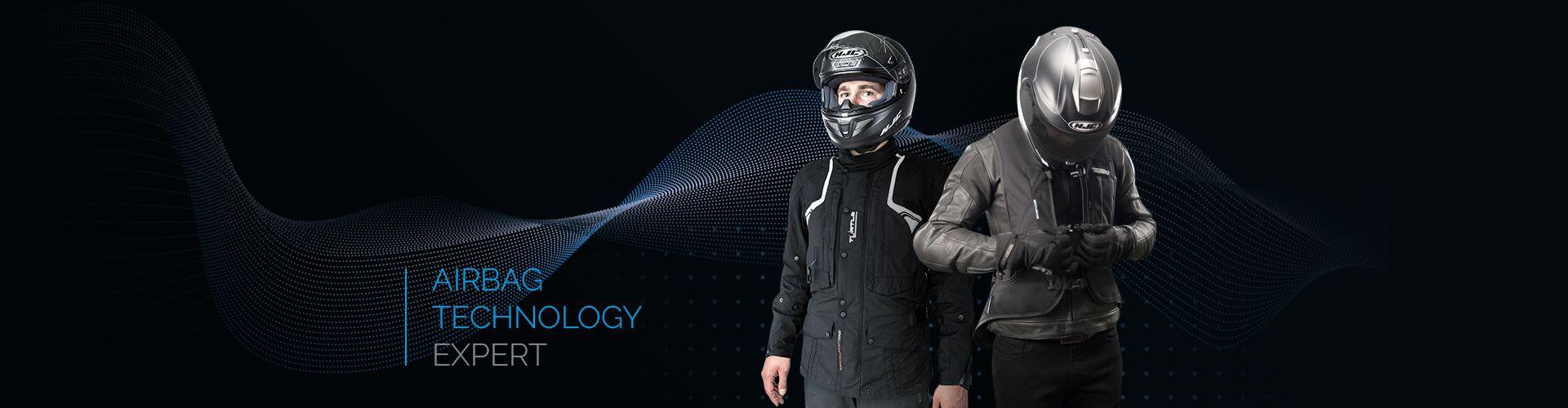 Airbag jacket for motorbkie riders