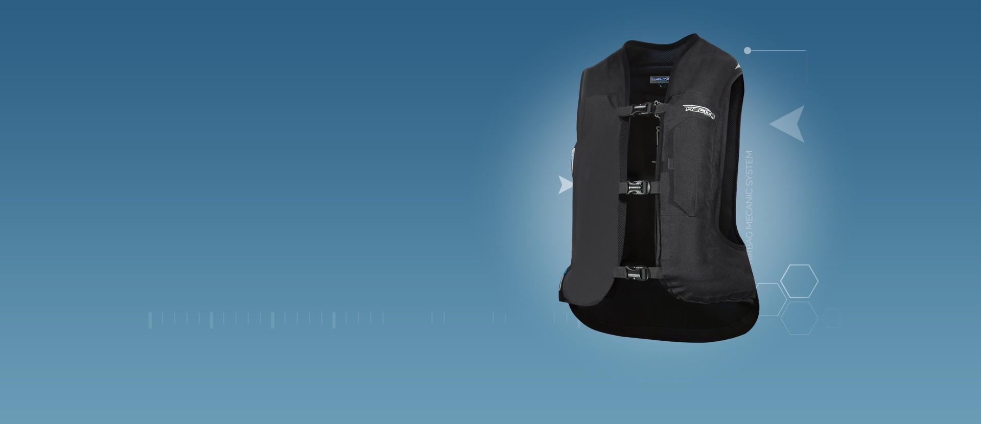 Gilet Airbag moto Helite
